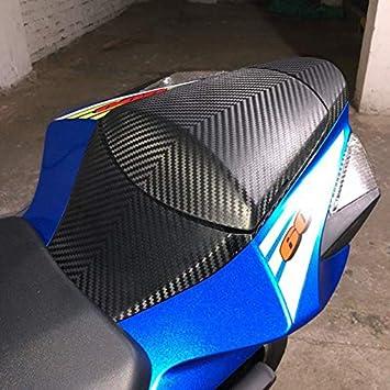 Matt-schwarz FATExpress Motorrad Carbon Muster Heckpassagier Sozius Solo Sitzhauben Abdeckung f/ür 2011-2018 Suzuki GSXR GSX-R 600 750 2012 2013 2014 2015 2016 2017