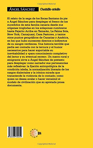 Cuchillo criollo (Spanish Edition): ÁngelSánchez ...