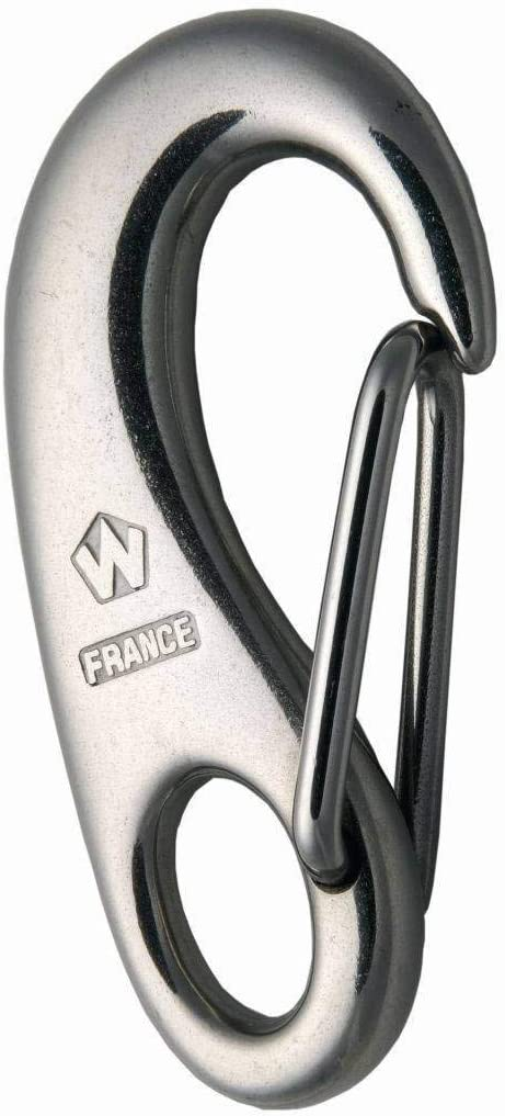 Wichard Stainless Steel 316 Snap Hook - Standard - Size: Mini or 35mm
