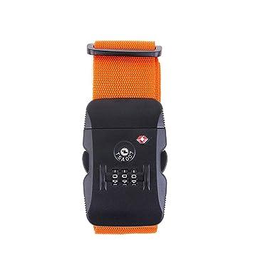 2b13107817 Amazon.co.jp: MAZU 【TSAロック付き スーツケースベルト】ダイヤル式 ...