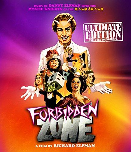 Forbidden Zone + Soundtrack CD [Blu-ray]