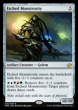 Magic: the Gathering - Etched Monstrosity (210/249) - Modern Masters 2015