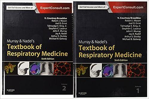 Murray & Nadel's Textbook Of Respiratory Medicine, 2-volume Set, 6e por Robert J. Mason Md