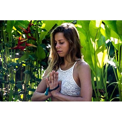 Buddhist Japa Mala Beads - Gemstone Buddha Necklace Blessed