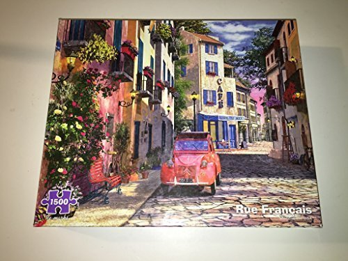 Rue Francais 1500 Piece Puzzle by Re-Marks