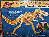 T-rex Tyrannosaurus Wood Skeleton Model Kit
