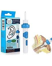 Oorwasverwijderaar, elektrische oorreiniger, oorwasverwijderaar, elektrische oorwasverwijderaar, stofzuiger, voor volwassenen en kinderen, G25 12PACK 2700K zacht wit 4W (40-Watt equivalent)