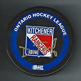 Dan Turple Signed Kitchener Rangers Puck Atlanta Thrashers - Autographed NHL Pucks