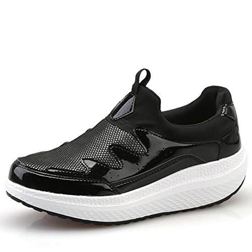 Fitness Sneakers Casual Primavera Guida Tela Loafers Slope E Xue Scarpe Autunno Donna Platform Da Flat Di Shaking on Slip Comfort Shake Heels B Mocassini Shoes w7P1w