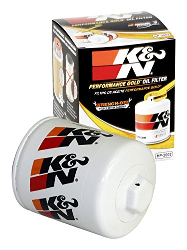 HP-2002 K&N Performance Oil Filter; AUTOMOTIVE (Automotive Oil Filters):