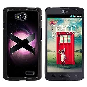Be Good Phone Accessory // Dura Cáscara cubierta Protectora Caso Carcasa Funda de Protección para LG Optimus L70 / LS620 / D325 / MS323 // X