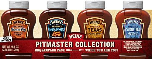 Heinz BBQ Sauce, Pitmaster Collection Sampler Pack, 45.6 Oun