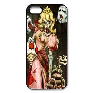 cubierta mkCase The Zombie Princess Custom Style Plastic (cáscara dura) Funda para el iPhone 5 5S