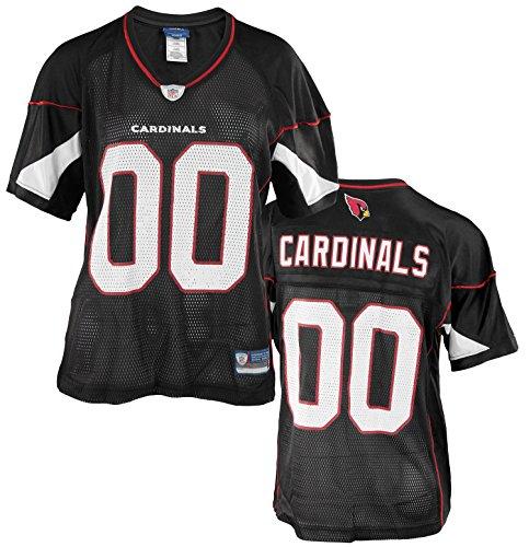 Arizona Cardinals NFL Womens Team Alternate Replica Jersey, Black – DiZiSports Store