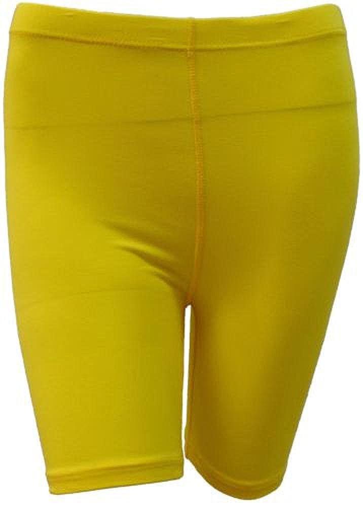 7c70bc21da77 elegance1234 2 Stück Damen dehnbare Baumwoll-Lycra-Shorts über dem Knie  aktiv Leggings(2195)  Amazon.de  Bekleidung