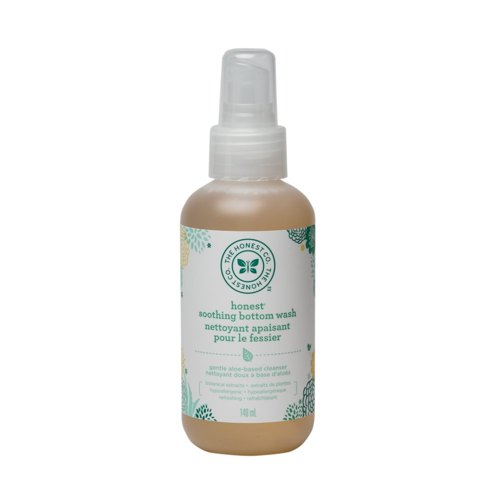 The Honest Company Honest soothing bottom wash gentle aloe based, 5 oz