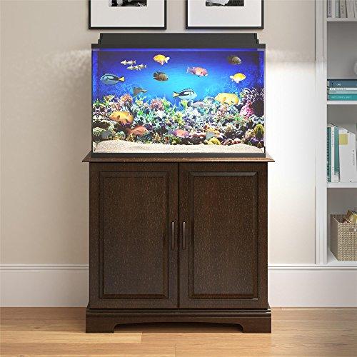 Ameriwood Home 5691012COM Harbor Aquarium Stand, 29-37 Gallon