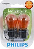 Philips 3157NA LongerLife Miniature Bulb, 2 Pack
