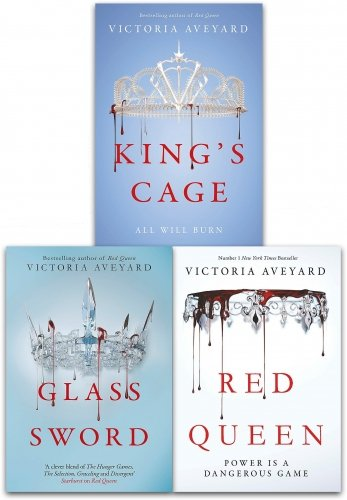 Red Queen Series Victoria Aveyard Collection 3 Books