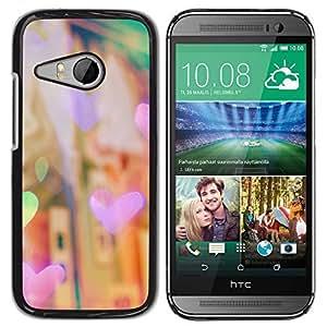 TaiTech / Hard Protective Case Cover - Night City Lights City Vignette - HTC ONE MINI 2 / M8 MINI by ruishername