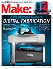 "We're excited to present our ""2019 Make: Digital Fabrication Guide""! This year we get our hands on maker-ready waterjet cutters with machines from Wazer and Omax. We also review the latest 3D printers, CNC routers, laser cutte..."