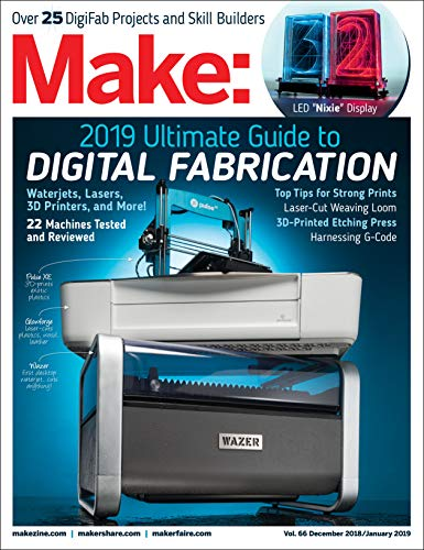 Make: Volume 66 (Best Hobby Laser Cutter)