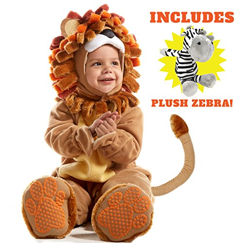 Spooktacular Creations Deluxe Baby Lion Costume Set (18-24 months, Brown) - Zebra Costumes For Toddlers