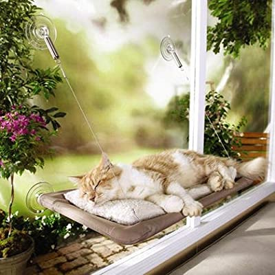 SaveOnMany ® Sunny Window Seat Cat Bed Perch