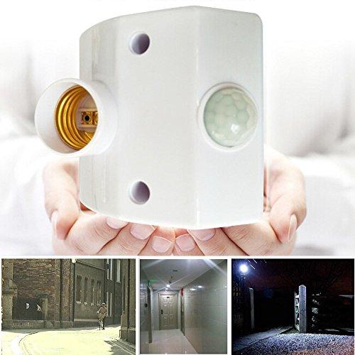 e27 infrared motion sensor lamp