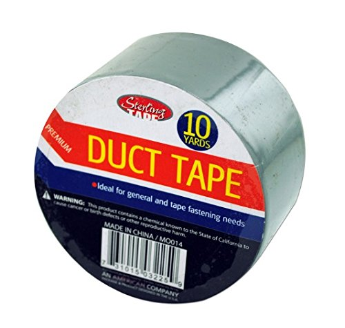 100 Packs of 10 yard roll duct tape ()