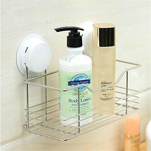 Gaoyu Suction Cup Wall Mounted Bathroom Kitchen Toilet Sh...