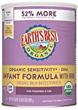 Amazon Price History for:Earth's Best Organic Low Lactose Sensitivity Infant Formula with Iron, Omega-3 DHA & Omega-6 ARA, 35.0 Ounce
