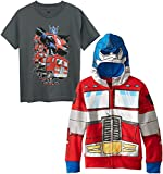 Optimus Prime Little Boys Character Hoodie, Red/Blue Set, 4