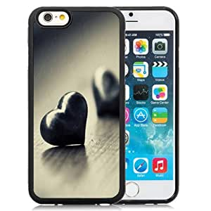 New Personalized Custom Designed For iPhone 6 4.7 Inch TPU Phone Case For Black Hearts On the Table Phone Case Cover