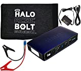 Halo Bolt ACDC 58,830 mWh Portable Charge Car Jump Starter with AC Outlet will Power Laptop