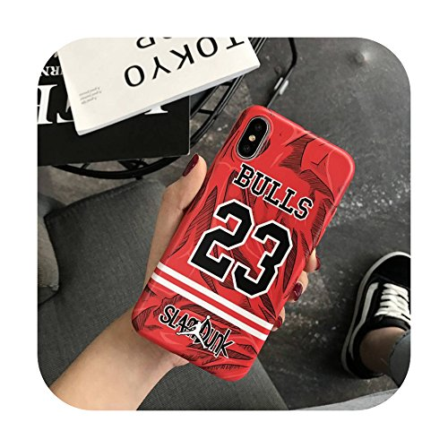 9848579c5b27c2 Image Unavailable. Image not available for. Color  Jordan X Slam Dunk  cartoon sports Soft silicon cover case for iphone 6 6Plus S 7