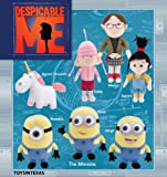 "9""-14"" Despicable Me Movie Plush set of 7"