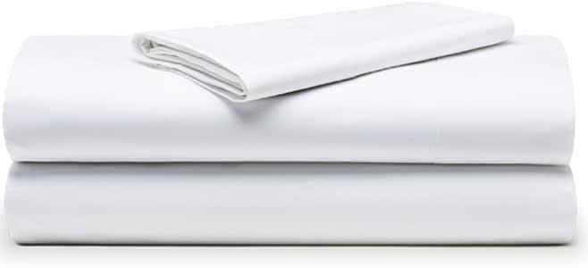 The White Basics - Colección Cadaques - Juego de sabanas Percal de 200 Hilos de 100% Algodon Peinado (Cama de 105 cm): Amazon.es: Hogar
