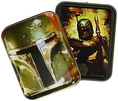 Cartamundi USA Star Wars Boba Fett Single Deck In Tin Card Game