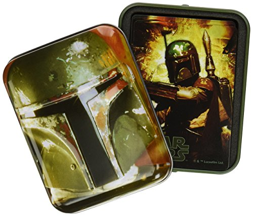 (Cartamundi USA Star Wars Boba Fett Single Deck in Tin Card Game)