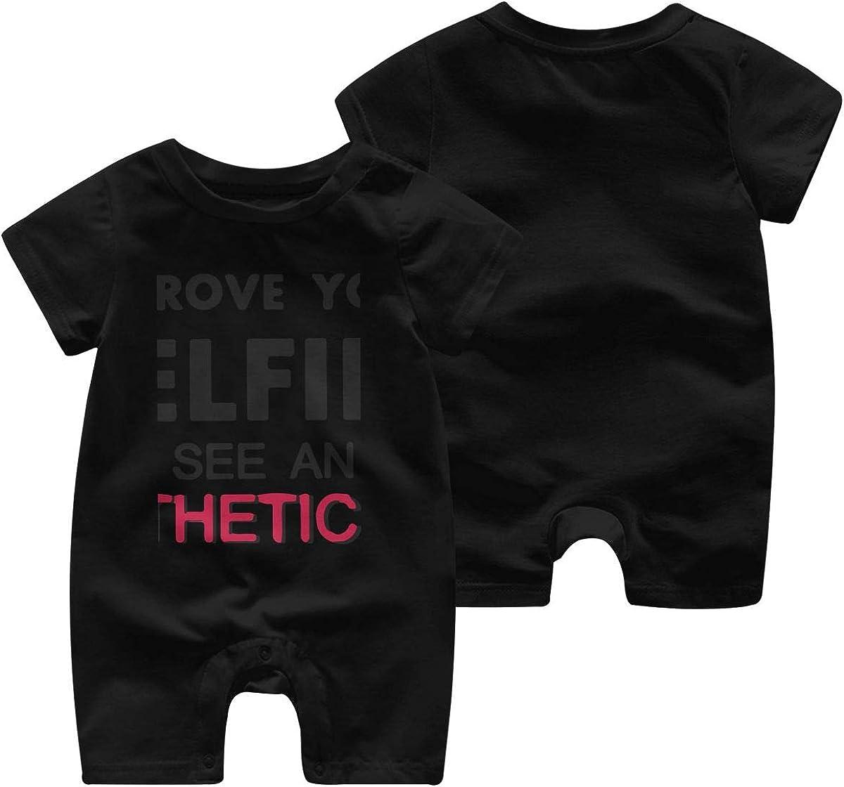 Baby Kids Infant Boy Cotton Short Sleeve Romper Jumpsuit Bodysuit Clothes Outfit