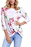 Chase Secret Womens 3 4 Sleeve Floral Print - Best Reviews Guide