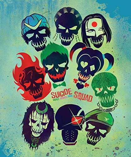 DC Comics Suicide Squad Harley Quinn, Joker and