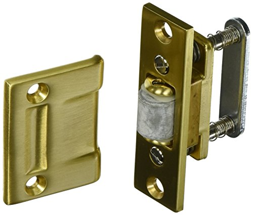 Baldwin 0430040 Roller Latch, Satin Brass