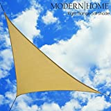 Modern Home Sail Shade Right Triangle (16.5' x 16.5' x 23') - Beige