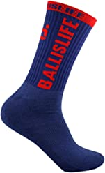 Ballislife Navy/Red Elite Socks (1 Pair)