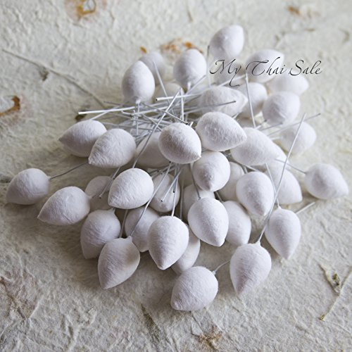 100 pcs Flower Bulbs Drop Shaped (18 mm) (Styrofoam Rose Cones compare prices)
