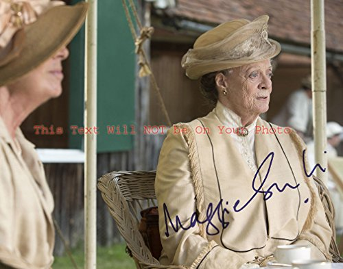Maggie Smith Downton Abbey Autographed 8x10 Glossy Photo from Celebrity Graphs