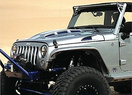 Amazon com: Promaxx 07-15 Jeep Wrangler Jk Cowl/Heat Reduction