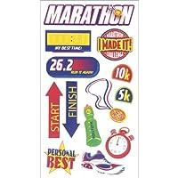 Sticko Scrapbooking Stickers, Marathon